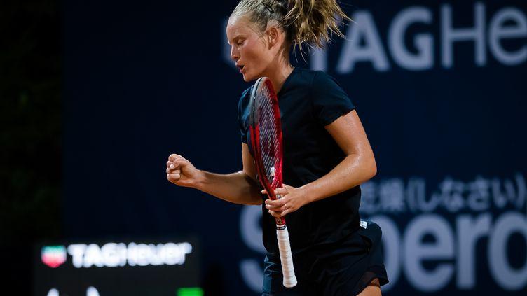 Fiona Ferro peut remporter son deuxième titre dimanche à Palerme (ROB PRANGE / SPAINDPPI)