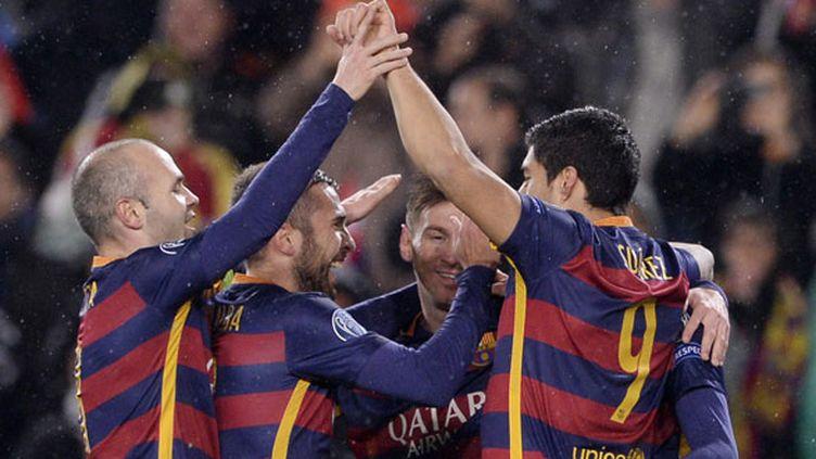 La joie du FC Barcelone