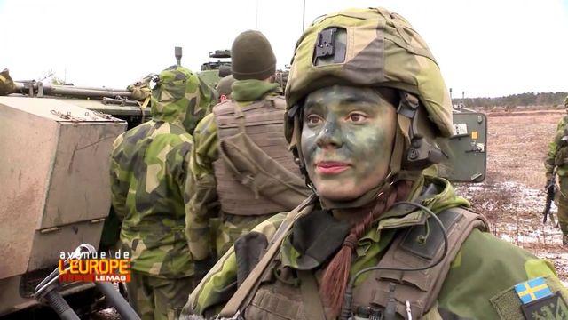 """Avenue de l'Europe. Cette """"époque inquiétante"""" où même la Suède fait des manœuvres militaires"""
