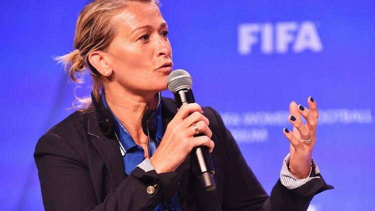 Frédérique Jossinet en 2015 au Canada (STUART FRANKLIN - FIFA / FIFA)