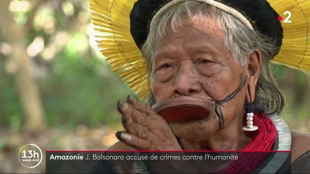 Amazonie : le chef Raoni accuse Jair Bolsonaro de crime contre l'humanité