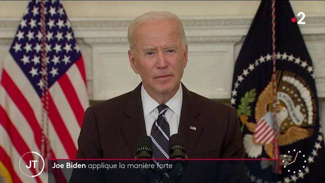 États-Unis: Joe Biden applique la manière forte pour accélérer les vaccinations contre le Covid-19