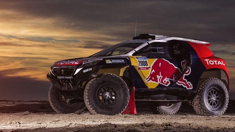 La Peugeot 2008 DKR passe à la couleur pour le Dakar 2015