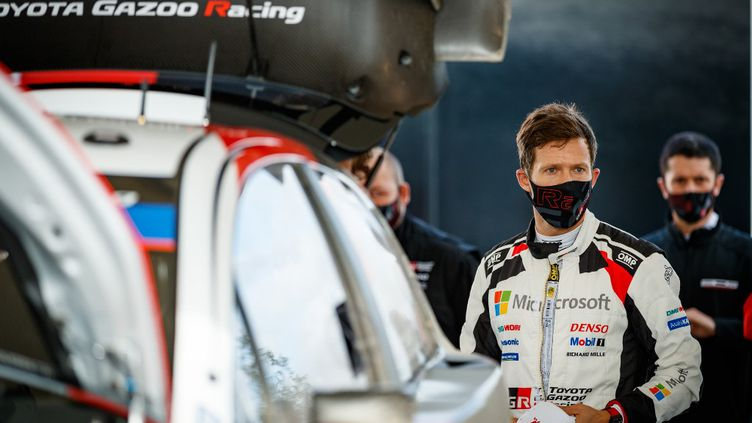Sébastien Ogier, sextuple champion du monde WRC. (FRANCOIS FLAMAND / DPPI MEDIA)