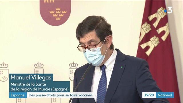 Espagne : des élus et des militaires contraints de démissionner pour s'être fait vacciner en priorité
