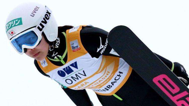 La sauteuse à ski japonaise Sara Takanashi