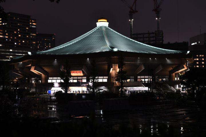 Les épreuves de karaté et judo se dérouleront les 5, 6 et 7 août au Nippon Budokan. (KAZUHIRO NOGI / AFP)