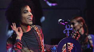 Prince en concert avec 3RDEyeGirl à Toronto le 19 mai 2015.  (Cindy Ord / Getty Images North America / AFP)
