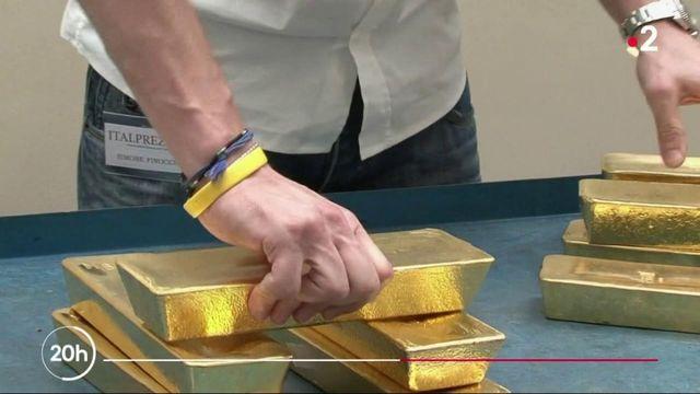 Marchés financiers : la ruée vers l'or