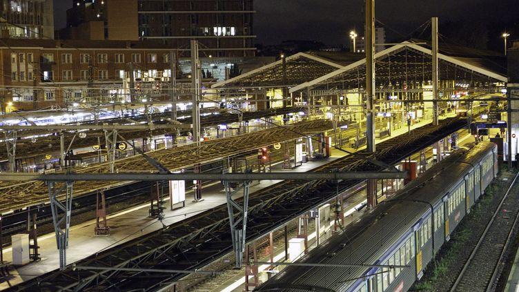 Gare de Toulouse (Haute-Garonne), le 29 novembre 2013. (ERIC TEISSEDRE / PHOTONONSTOP / AFP)