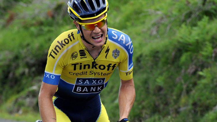 Le coureur de Tinkoff-Saxo, Nicolas Roche