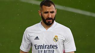 L'attaquant français du Real Madrid Karim Benzema. (GABRIEL BOUYS / AFP)