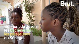 VIDEO. À 13 ans, elles deviennent les plus jeunes bachelières du Sénégal (BRUT)