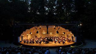 2005, La Conque, la scène du parc du Château de Florans  (PHOTOPQR/LA PROVENCE/MAXPPP)