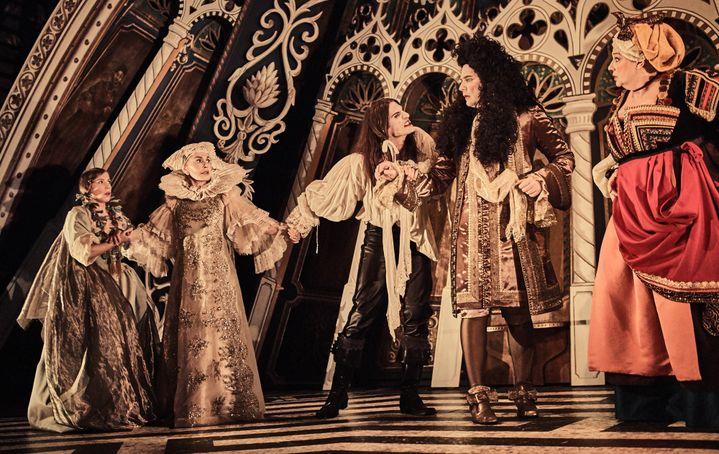 """""""Tartuffe"""", décors d'Emmanuel Charles  (Marcel Hartman)"""