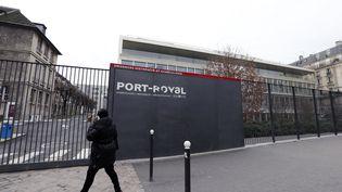 L'entrée de la maternité de Port-Royal, à Paris, le 3 février 2013. (FRANCOIS GUILLOT / AFP)