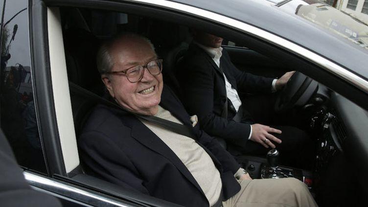 (Après la réunion du bureau exécutif du FN, Jean-Marie Le Pen déclare la guerre à sa fille Marine © maxPPP)