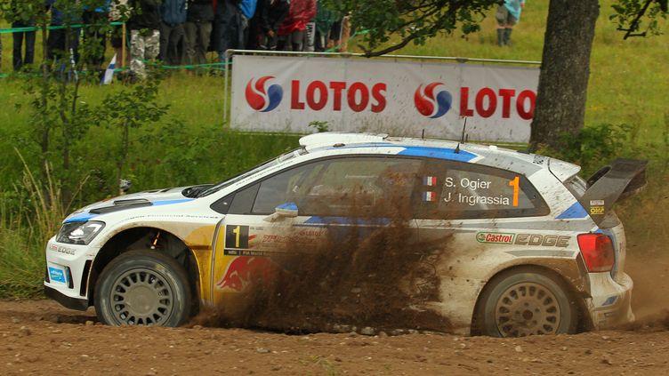 Sébastien Ogier a décroché sa 21e victoire en carrière en Championnat du monde WRC (TOMASZ WASZCZUK / PAP)