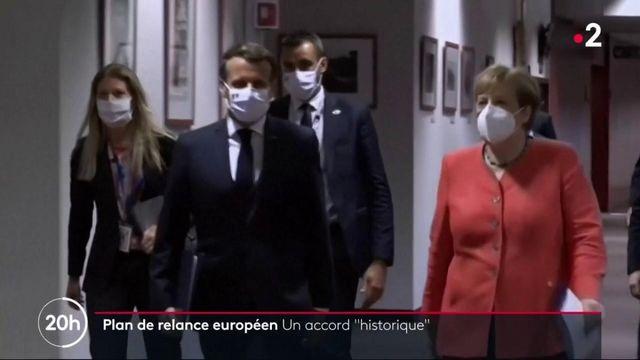 """Plan de relance européen : les 27 pays de l'UE sont parvenus à un accord """"historique"""""""