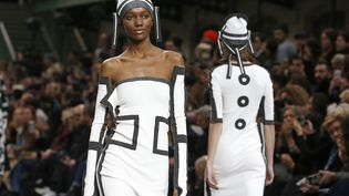 Issey Miyakepap automne-hiver 2020-21 à la PFW, le 1 mars 2020 (THIERRY CHESNOT / GETTY IMAGES EUROPE)