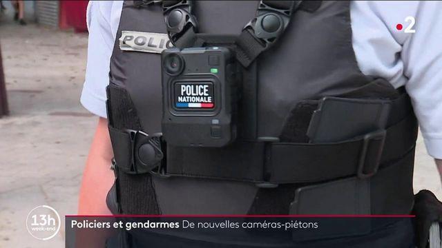 Sécurité : de nouvelles caméras-piétons pour les policiers et les gendarmes