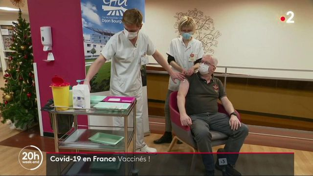 Coronavirus : la France entame sa campagne de vaccination