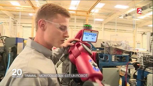 Travail : mon collègue est un robot collaboratif