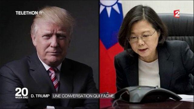 Donald Trump : risque d'une crise avec la Chine après une conversation avec Taïwan