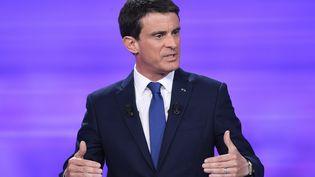 Manuel Valls à Paris, le 25 janvier 2017. (BERTRAND GUAY / POOL / AFP)