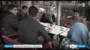La famille Shehada, de smigrants syriens installés à Quimper (France 3)