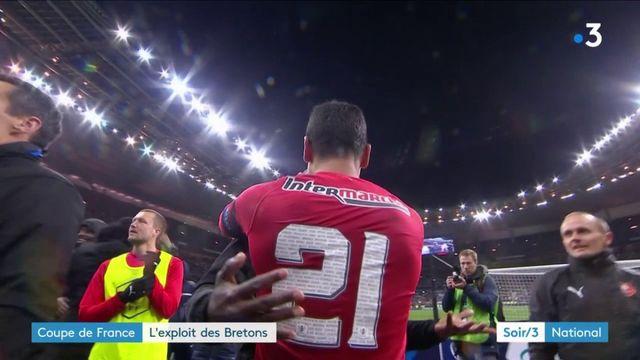 Coupe de France : l'exploit de Rennes contre le PSG