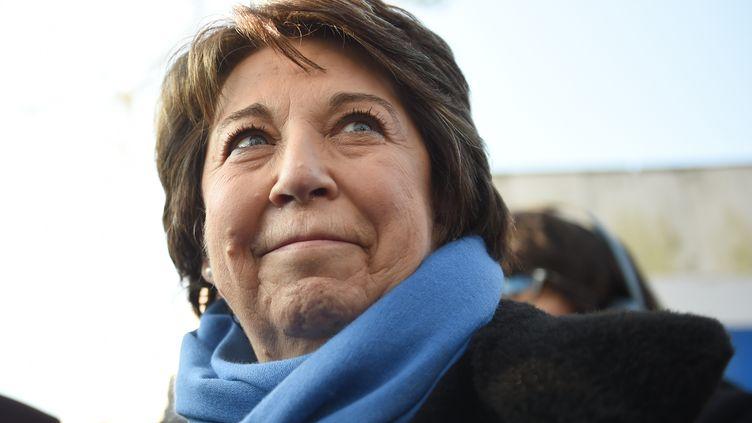 Corinne Lepage, ancienne ministre française de l'Environnement, le 10 février 2017 à Montlouis-sur-Loire (photo d'illustration) (GUILLAUME SOUVANT / AFP)