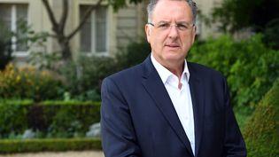 Le patron des députés LREM à l'Assemblée, Richard Ferrand, le 23 juin 2017 à Paris. (ALAIN JOCARD / AFP)