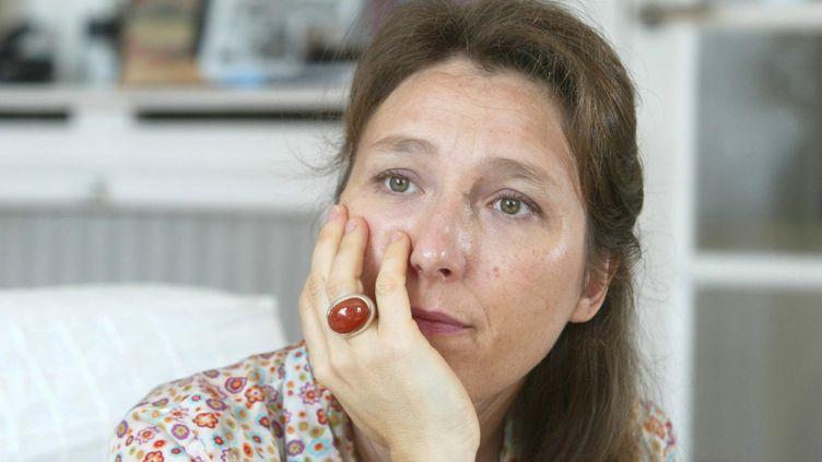L'écrivaine Marie Darrieussecq, le 11 septembre 2007 à Paris. (MAXPPP)