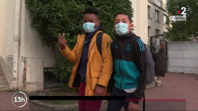 Rentrée scolaire : les élèves doivent désormais porter le masque