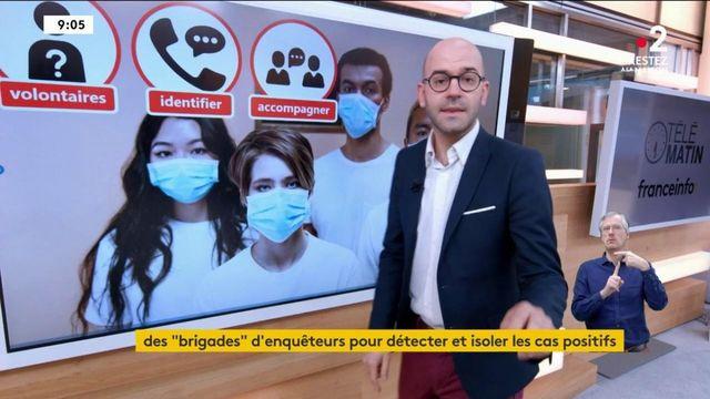 Déconfinement : quid des brigades d'enquêteurs pour isoler les nouveaux malades