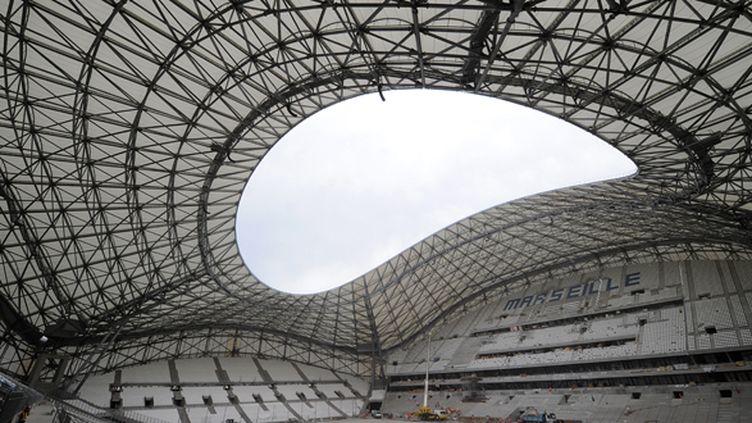 Le Stade Vélodrome de Marseille (BORIS HORVAT / AFP)