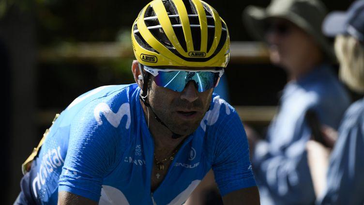 Alejandro Valverde (Movistar) (PHILIPPE LOPEZ / AFP)
