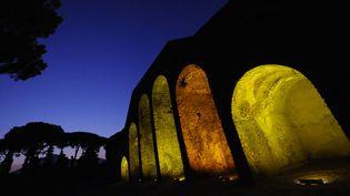 L'ancien amphithéâtre de Pompéi (5 août 2015)  (Mario Laporta / AFP)