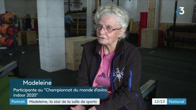 Indre-et-Loire : Madeleine, coqueluche de la salle de sports à 86 ans