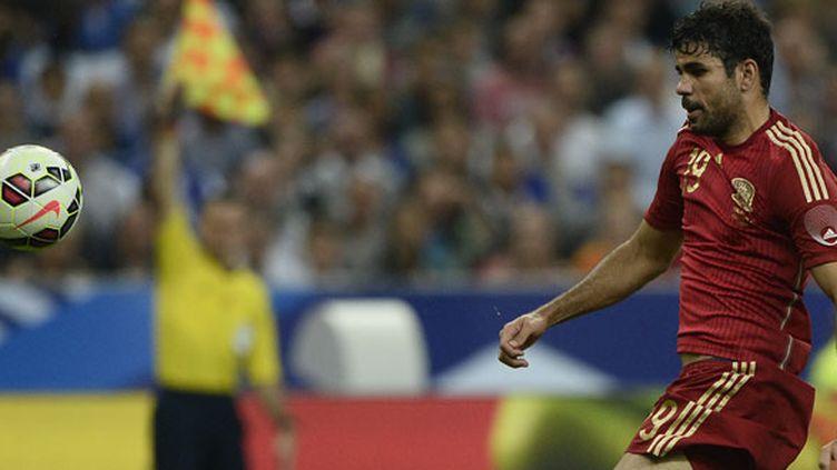 L'attaquant espagnol Diego Costa n'a pas encore marqué avec la sélection