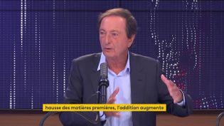 Michel Édouard Leclerc, le 21 Septembre 2021. (FRANCEINFO / RADIOFRANCE)