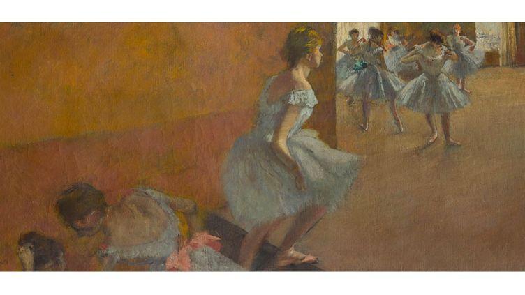 """Edgar Degas, """"Danseuses montant un escalier"""", entre 1886 et 1890, Paris, Musée d'Orsay, RF 1979  (Photo © RMN-Grand Palais (Musée d'Orsay) / Stéphane Maréchalle)"""