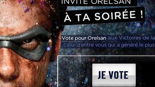 Capture d'écran de la page Facebook du rappeur Orelsan. (FTVI)