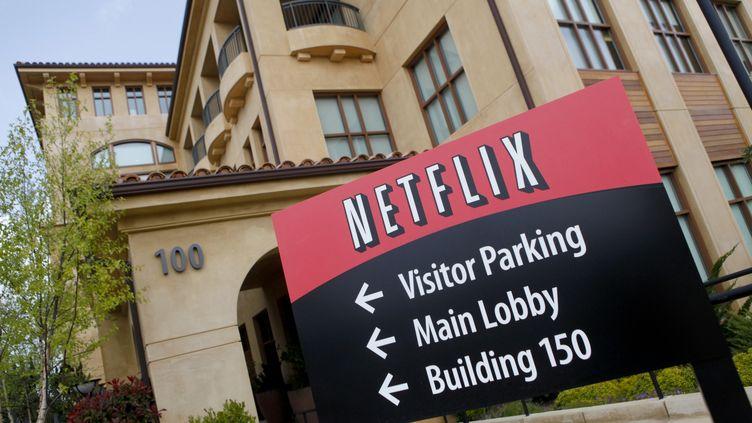 Le siège de Netflix, à Los Gatos, en Californie (Etats-Unis), le 13 avril 2011. (RYAN ANSON / AFP)
