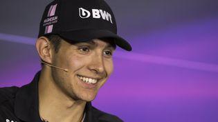 Esteban Ocon, plus jeune pilote français de Formule 1 (VALDRIN XHEMAJ / EPA)
