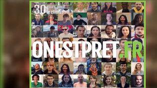 60 youtubeurs lancent un défi par jour à leurs abonnés. Une initiative écologique, qui vise à réduire les déchets, ou encore contribuer à un mode de vie plus sain. (FRANCE 3)