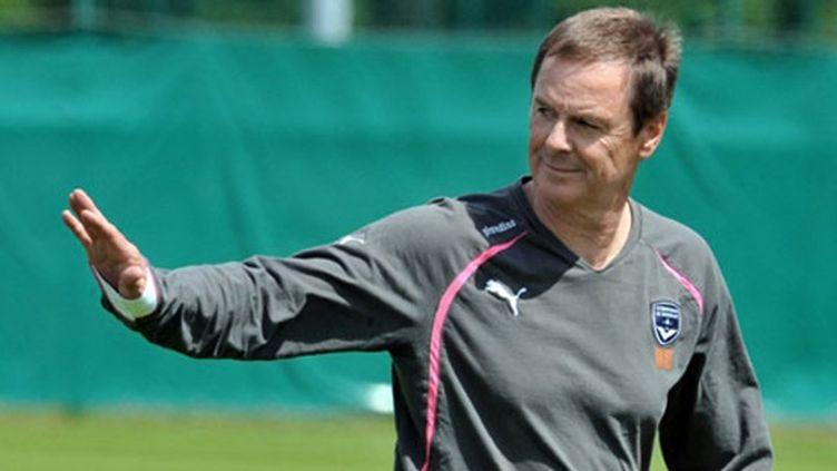 L'entraîneur de Bordeaux Eric Bedouet
