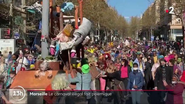 Marseille : la colère monte après un carnaval sauvage sans mesures sanitaires