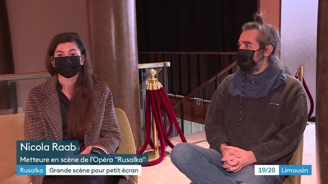 """À Limoges, l'adaptation en film de l'opéra """"Rusalka"""" stimule les artistes"""